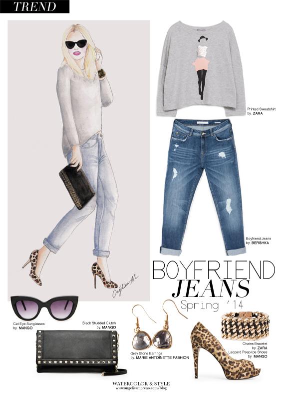 Trend: Boyfriend Jeans