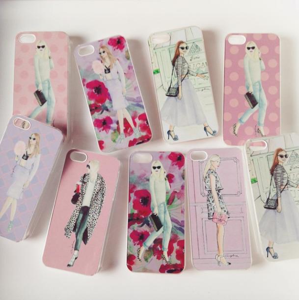 Fashion Illustration – iPhone Cases