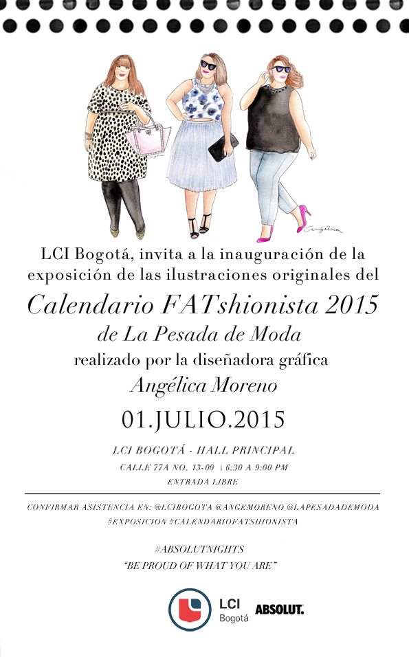 Exposición de FATshionistas 2015