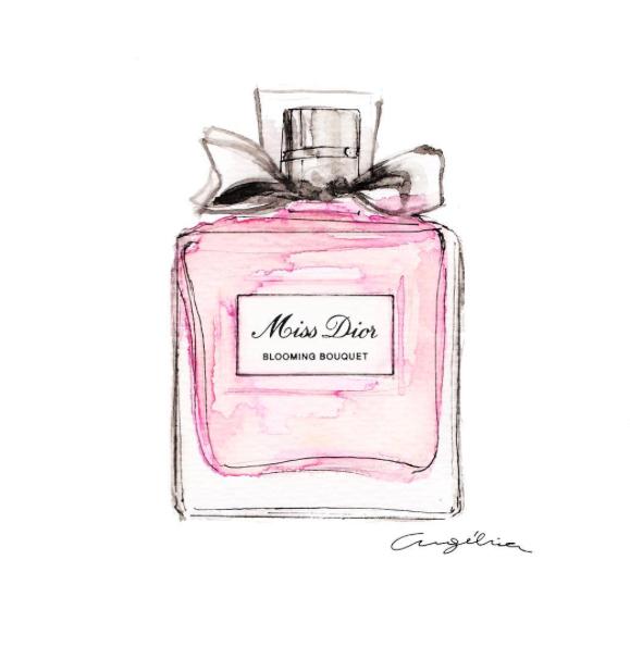 MissDior-watercolor